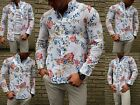 YOUNG FASHION EXCLUSIVE SPORT SAILING YACHTING LEINEN HERRENHEMD SOMMER MODE