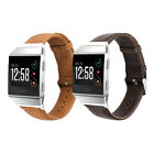 Genuine Leather Watch Band Wrist Strap for Fitbit iOnic Smart Fitness Watch image