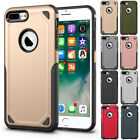 Rugged Shockproof Soft Rubber Bumper Hard Case Cover For Apple iPhone 8 / 8 Plus