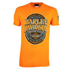Sturgis Harley-Davidson® Men's Ammunition Safety Orange T-Shirt $18.95 USD on eBay
