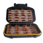 40Pcs Fly Fishing Dry Flies Wet Flies Feather Lures Kit for Trout Fishing PICK
