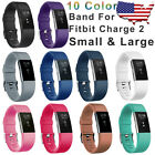 Replacement Wristband For Fitbit Charge 2 Band Silicone Fitness Small / Large image
