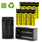 Garberiel 5000mAh BRC 3.7V 18650 Battery Rechargeable Li-Ion Battery +US Charger