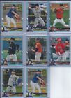 2018 Bowman Chrome and Base refractors you Pick /150 /250 /499 Atomic Shimmer