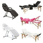 Salon Massage Table 3 Fold Facial SPA Folding Bed Therapy Couch Tattoo Equipment
