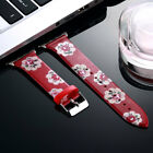 Fasion Birds Flower Silicone Wrist Band Strap For Apple Watch Series 38mm &42mm
