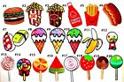 Food Candy Sweet Snack Cute Gift DIY Kids Backpack Jeans Shi