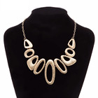 Ladies Fashion Necklace Chunky Retro Jewellery Statement Costume Chain Style