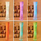 """52"""" Modern LED Standing Floor Lamp RGB Color Changing Lanterns Light with Fabric"""