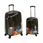 Rockland Unisex  2 Piece Polycarbonate/ABS Upright Luggage S