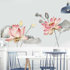 Lotus Flowers Wall Stickers Kids Home Decor Removable Vinyl Decal Art Mural Gift