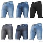 New Mens Summer Denim Stretch Quality Shorts Latest Style Knee Cheap Holiday Gym