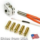 Volcano Hotend High Speed Print Pack 5x Nozzles 12V or 24V 3D Printer Extruder