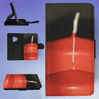 RED CANDLES WICK FLIP CASE COVER FOR SAMSUNG GALAXY PHONE