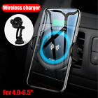 Qi Wireless Car Mount Automatic Infrared Sensor Charging Fast Charger For iPhone
