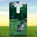 GOLF GOLF BALL GOLF COURSE GOLF FIELD HARD BACK CASE COVER FOR LG PHONES
