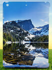 ALPINE CALM CLOUDS COLD BACK HARD CASE COVER FOR APPLE IPAD