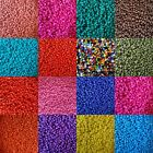 Pack Of 3mm, 8/0 Bold Bright Colour Seed Beads, Use For Peyote Craft, Jewellery