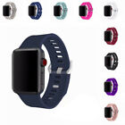 Apple Watch Band Replacement Embossed Soft Silicone Sport Wrist Strap Bracelet