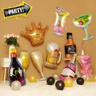 Champagne Cup Bottle Foil Balloon Beer Birthday Summer Hawaii Party Decorations