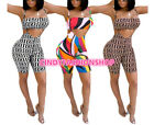 Women Two Piece Set Strapless Tube Top Shorts Outfits Sexy Club suits Jumpsuit