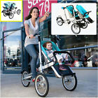 portable bikes - Portable Pushchair 3 in1 Baby Cild Stroller Bicycle Bike One/Double Seats Steel