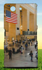 AMERICAN FLAG ARCHITECTURE BLUR BRIGHT HARD BACK CASE FOR SONY XPERIA PHONES