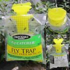 Fly Catcher Disposable Fly Trap Outdoor Plastic Hanging Fly Bags Bag Lot @4H