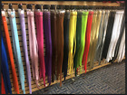 Womens Leather Belts 18 Colors 1 Inch Wide Stitched Skinny Quality Belt *NEW*