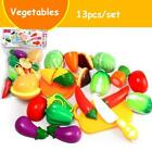 Kitchen Baby Toys Food Fruit Vegetable Cutting Kids Pretend Play Toys for Dolls