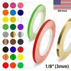 """1/8"""" Roll PIN STRIPE Car Model Motorcycle Decal Line TAPE Vinyl Stickers 3mm"""