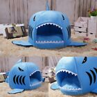 Cute Soft Shark Washable Pets Supplies Dog Cat Bed House Kennel Cat Mat Cushion