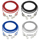 Pet Dog Tie-Out Cable Leash Metal Steel Wire Chain Leash 10/16/32FT for Bulldog