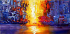 Hand Painted Abstract Canvas Oil Painting Wall Art Home Decor 953