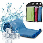 Ice Cooling Towel for Sports/Workout/Fitness/Gym/Yoga/Pilates  image