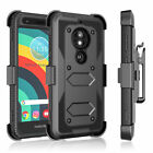 For Motorola Moto E5 Cruise/GO/G6 Play/G7 Power Screen Protector Phone Case Clip