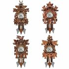 Cuckoo Wall Clock Bird Decorations For Home Cafe Restaurant Art Vintage Chic