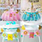 Baby Banner Bunting 1st Birthday Party Gril Boy Party Supply
