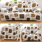 1/2/3 Seater Elastic Sofa Covers Slipcover Settee Stretch Floral Couch Protector