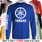 Yamaha Factory Racing T-Shirt Motorcycle Men 80 85 125 250 450 R1 R6 FZR YZ Team image