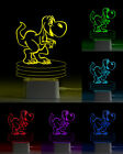 MyGlow 3D Illusion LED Night Light 7 Colour Touch Table Desk Mood Lamp Gift