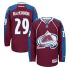 Nathan MacKinnon Reebok Colorado Avalanche Home Burgundy Premier Jersey Mens