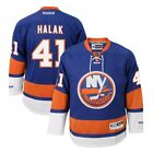 Jaroslav Halak Reebok New York Islanders Official Home Blue Premier Jersey Mens
