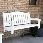 Garden Bench Swing Unfinished