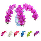 Artificial Butterfly Orchid  Phalaenopsis Fake Flower Home Wedding Party Decor