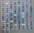 NFL, MLB, NHL, & NBA Oval/ Rounded Rectangular Charms For Shoelaces or Paracord