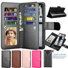For Samsung Galaxy Note 9 Wallet Case Card Slots Hybrid Shoc