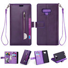 For Samsung Galaxy Note 9/S9/S8 Flip Leather Wallet Stand Card Holder Case Cover
