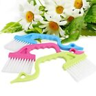 US Kitchen Track Shower Door Cleaner Dust Room Brush Home Cleaning Tool Kit 2pcs