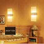 US Modern LED Wall Light Up Down Cube Sconce Lighting Lamp Home Decor Fixture
